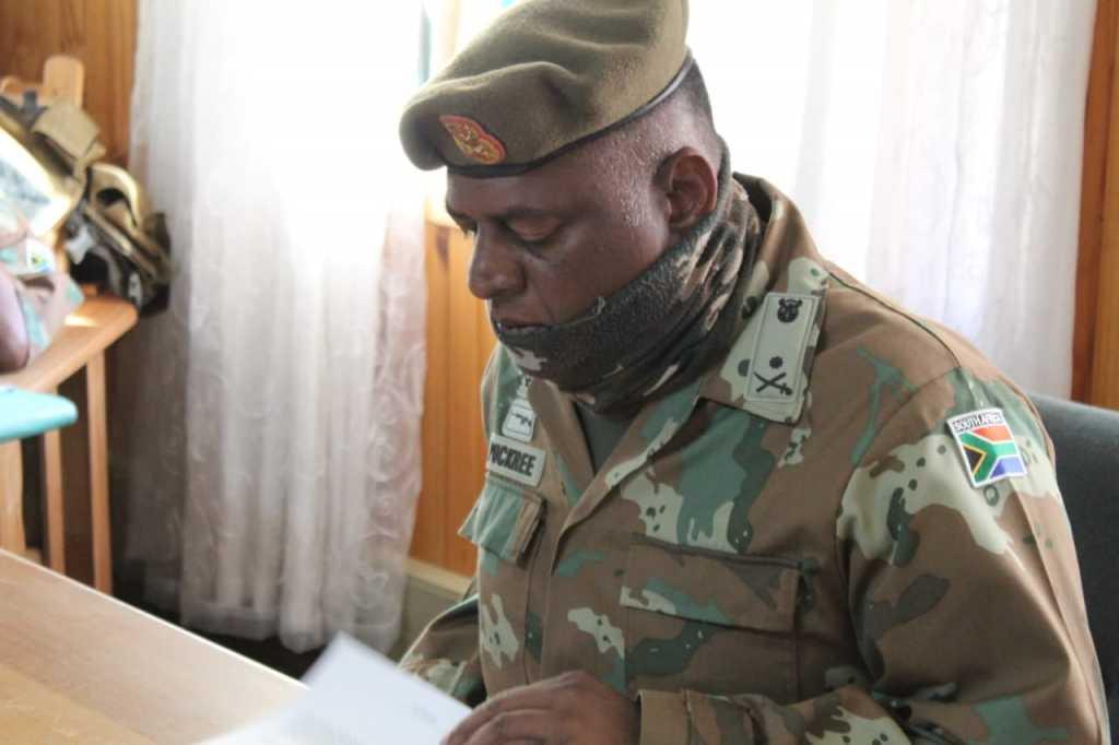 Brig Gen L. Puckree GOC SA Army ADA Formation