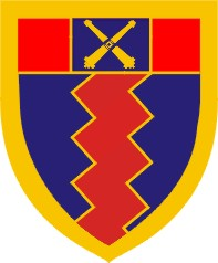 South African Army Artillery Formation Shoulder Flash Insignia